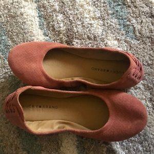 Lucky Brand Pink Flats